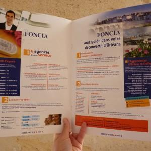 plaquette commerciale Foncia