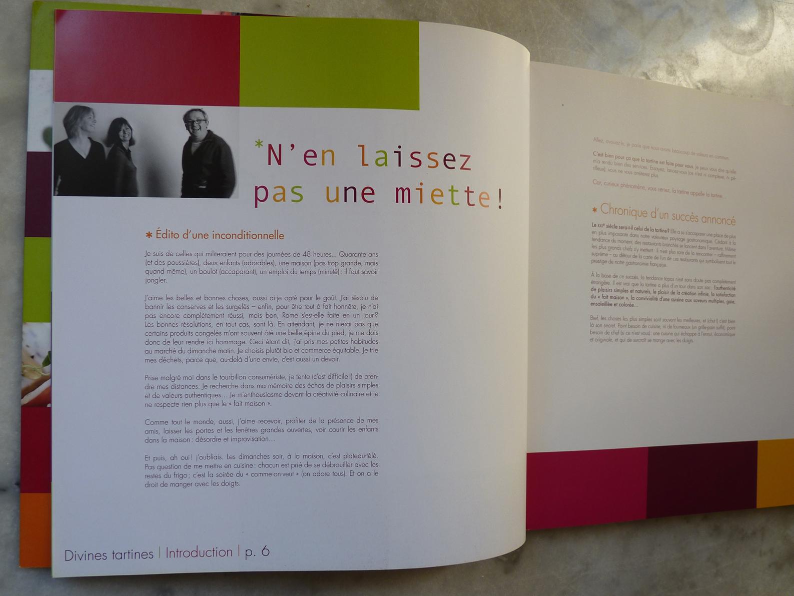 Divines tartines livre de cuisine marie zuurbier - Editions sud ouest cuisine ...